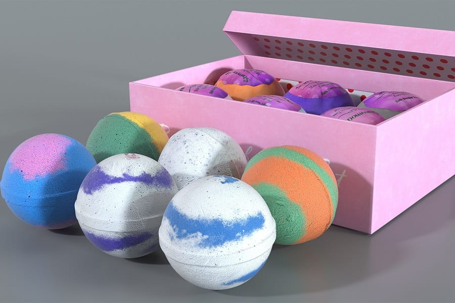 How to Store bath Bombs