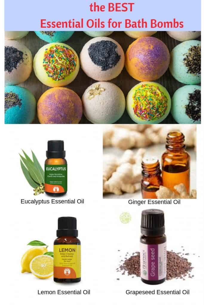 Best essential oils for bath bombs