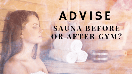 Sauna before or after workout