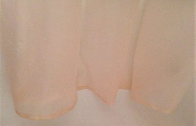 shower curtains with pink mold