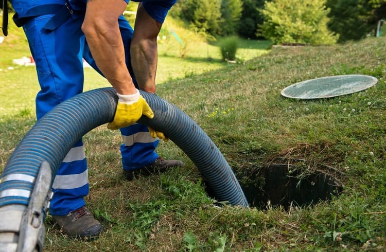 clogged main sewer line