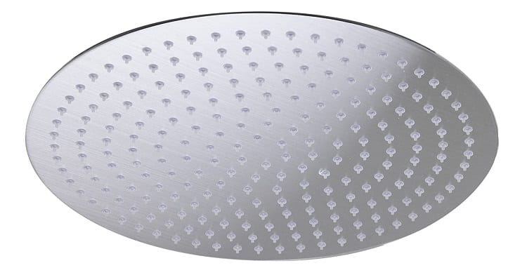 ALFI brand RAIN16R Ultra Thin Rain Shower Head