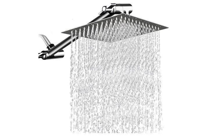 Mesun High Pressure Showerhead with 11 Inch Arm