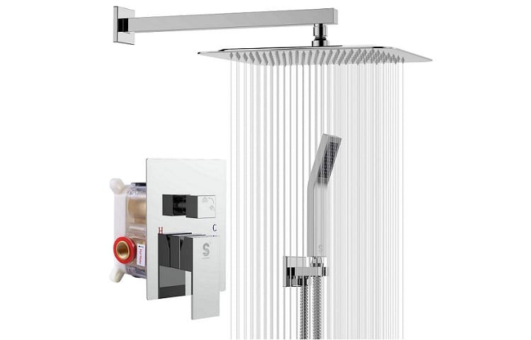 SR SUN RISE SRSH F5043 Bathroom Rain Mixer Shower