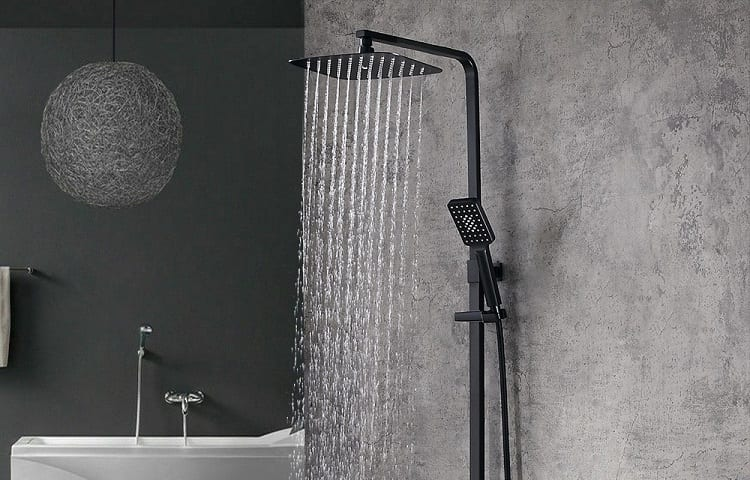 different sizes showerheads